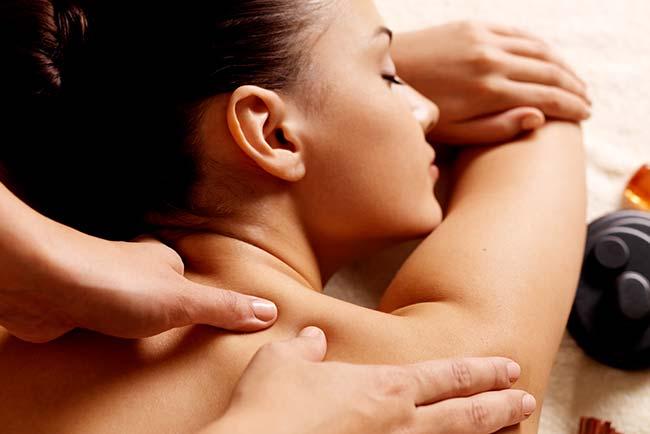 Rückenmassage Ganzkörpermassage