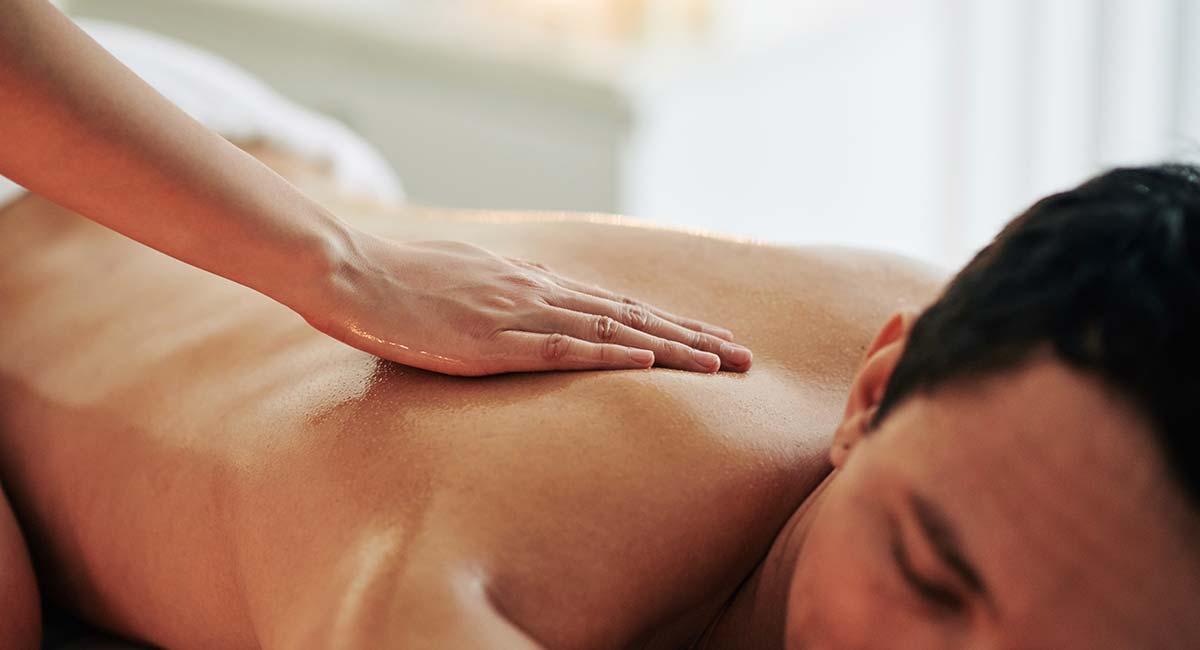 Rückenmassage Ligne St Barth Männerbehandlungen
